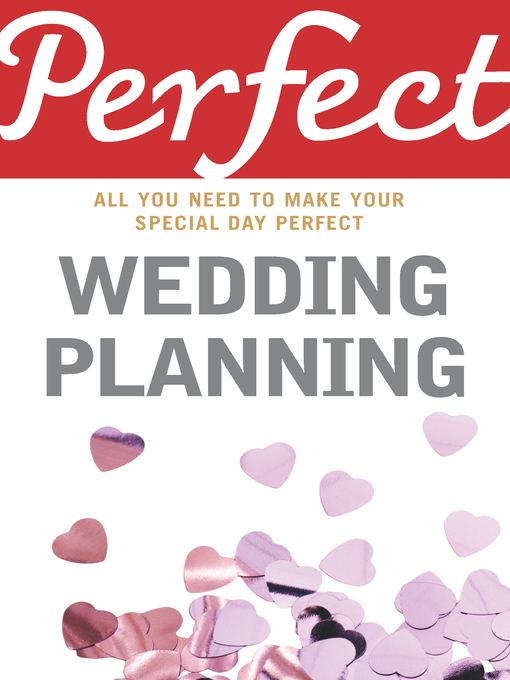 Perfect Wedding Planning (eBook)